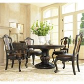 Hooker Furniture Grandover Pedestal Dining Table with Leaf