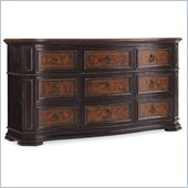 Hooker Furniture Grandover Nine-Drawer Dresser