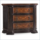 Hooker Furniture Grandover Three-Drawer Nightstand