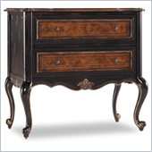 Hooker Furniture Grandover Two-Drawer Leg Nightstand