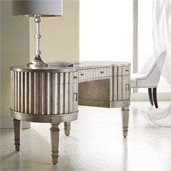 Hooker Furniture Melange Fluted Kidney Desk