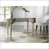 Hooker Furniture Melange Cane Writing Desk with Antiqued Mirror Insert