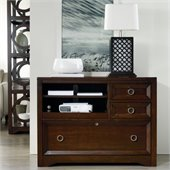 Hooker Furniture Kinsey Utility File Console in Walnut