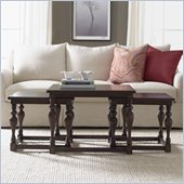 Hooker Furniture Seven Seas Square Nesting Cocktail Table Set