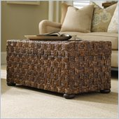 Hooker Furniture Seven Seas Abacca Sliding Top Trunk Cocktail Table