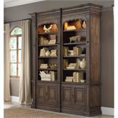 Hooker Furniture Rhapsody Double Bookcase