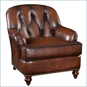 Hooker Furniture Seven Seas Club Chair in Sedona Chateau Leather