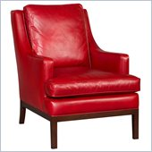 Hooker Furniture Seven Seas Club Chair in Valencia Aragones Leather