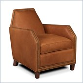Hooker Furniture Seven Seas Club Chair in Arandis Copper Leather