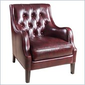 Hooker Furniture Seven Seas Club Chair in Catwalk Claudia Leather