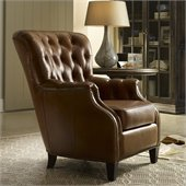 Hooker Furniture Seven Seas Club Chair in Aegis Glove Leather