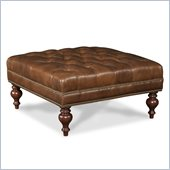 Hooker Furniture Seven Seas Square Cocktail Ottoman in Tiandi Tuose