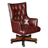 Hooker Furniture Seven Seas Executive Chair in Sedona Junipine