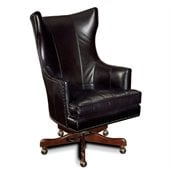 Hooker Furniture Seven Seas Executive Chair in Soraya Black