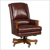 Hooker Furniture Seven Seas Executive Chair in Omega Blackberry