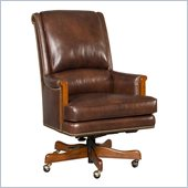 Hooker Furniture Seven Seas Executive Chair in Omega Driftwood