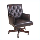 Hooker Furniture Seven Seas Executive Chair in Valor Chocolate