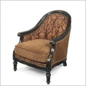 Hooker Furniture Seven Seas Exposed Wood Chair in Padovanelle Mogano
