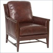 Hooker Furniture Seven Seas Exposed Wood Club Chair in Halona Native