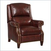 Hooker Furniture Seven Seas Recliner Chair in Omega Blackberry