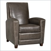 Hooker Furniture Seven Seas Recliner Chair in Zorro Carbon