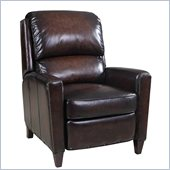 Hooker Furniture Seven Seas Recliner Chair in Valor Chocolate