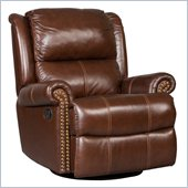 Hooker Furniture Seven Seas Swivel Glider Recliner Chair in Toro