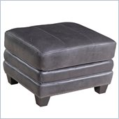 Hooker Furniture Seven Seas Ottoman in Zorro Carbon