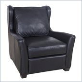 Hooker Furniture Seven Seas Stationary Chair in Noveau Black