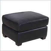 Hooker Furniture Seven Seas Ottoman in Noveau Black