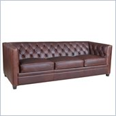 Hooker Furniture Seven Seas Stationary Sofa in Etosha Onkoshi