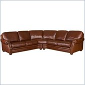 Hooker Furniture Seven Seas 2 Piece Sectional in Savannah Davenport