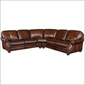 Hooker Furniture Seven Seas 2 Piece Sectional in Sedona Chateau