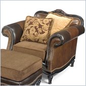 Hooker Furniture Seven Seas Stationary Chair in Olde English Livery