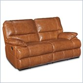 Hooker Furniture Seven Seas Reclining Loveseat in Chestnut