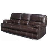 Hooker Furniture Seven Seas Reclining Sofa in Espresso