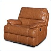 Hooker Furniture Seven Seas Glider Recliner Chair in Chestnut