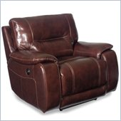 Hooker Furniture Seven Seas Power Recliner Chair in Cordovan