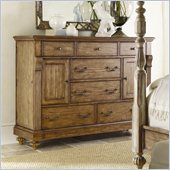 Hooker Furniture Sanctuary Two-Door Seven-Drawer Dresser in Drift