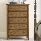 Hooker Furniture Sanctuary 5 Drawer Chest in Drift