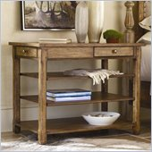 Hooker Furniture Sanctuary Open Nightstand in Drift