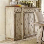Hooker Furniture Sanctuary 4-Door 3-Drawer Credenza in Dune