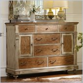 Hooker Furniture Sanctuary Seven-Drawer Dresser in Dune and Beach
