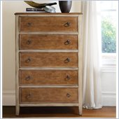 Hooker Furniture Sanctuary Five-Drawer Chest in Dune and Beach