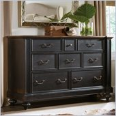 Hooker Furniture Sanctuary Eight-Drawer Dresser in Ebony
