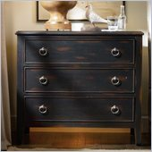 Hooker Furniture Sanctuary Three-Drawer Nightstand in Ebony