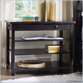 Hooker Furniture Sanctuary Open Nightstand in Ebony