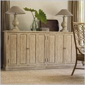 Hooker Furniture Sanctuary Four-Door Console in Parchment
