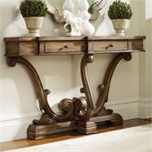 Hooker Furniture Sanctuary Thin Console in Amber Sands