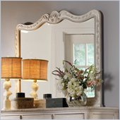 Hooker Furniture Primrose Hill Carved Mirror in Trellis White